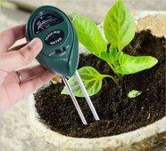 Анализатор почвы 3 в 1: кислотности , влажности и освещенности