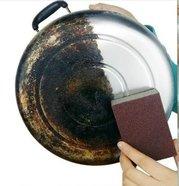 """Абразивная губка для чистки пригоревшей посуды """"Золушка"""""""